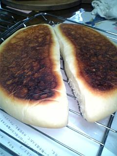 フライパンで焼くパン