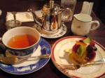 霧笛楼のタルトと紅茶