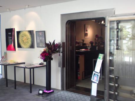W61S 公文庫カフェ入り口