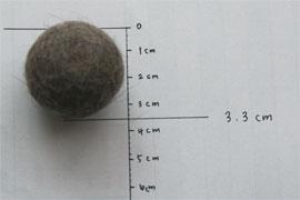 3.3センチ