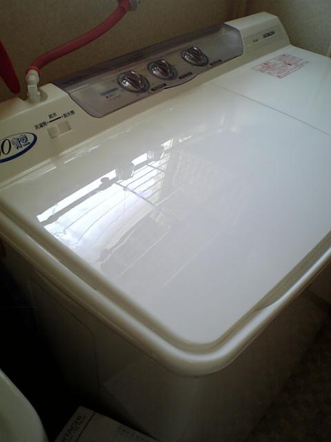 二漕式洗濯機「青空」