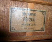 ヤマハFG200_2