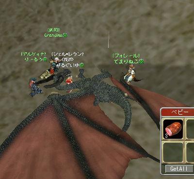 4人がかりでドラゴン攻略