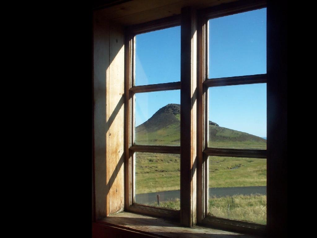 窓による境界