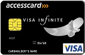 Access銀行(ナイジェリア) Visa Infiniteカード