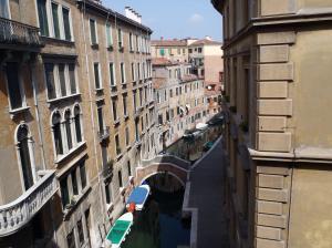 ホステルからの風景