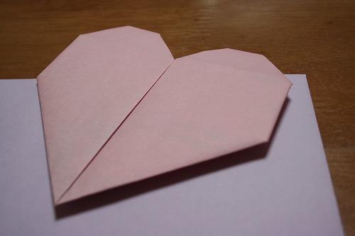 ハート 折り紙:お手紙 ハート 折り方-hinatafuture.blog115.fc2.com