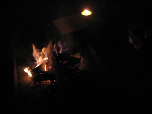 8:17たき火