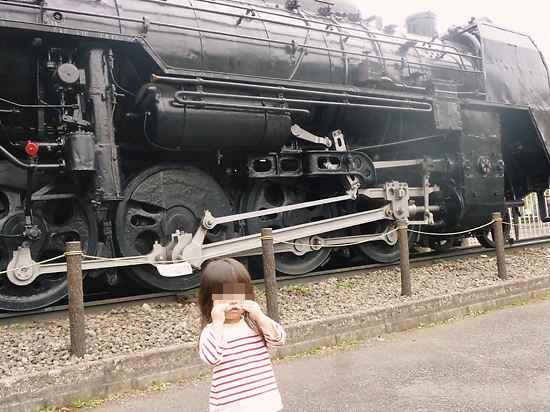 機関車とアンパンマン