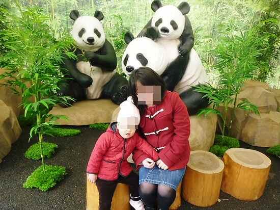 cocoとママとパンダ