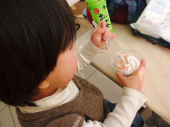 2/2 いちごソフトクリーム