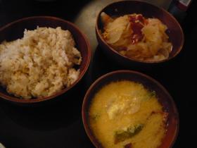 ブータン料理「ガテモタブン」1