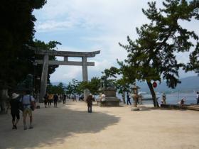 宮島の散策9