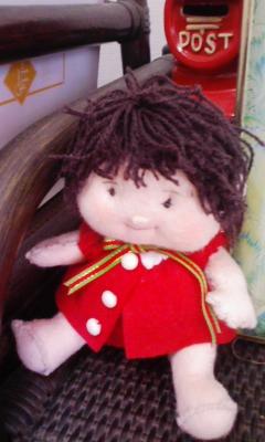 ひよりちゃん人形
