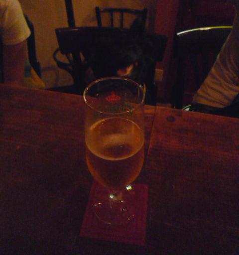 ビールとほおづき