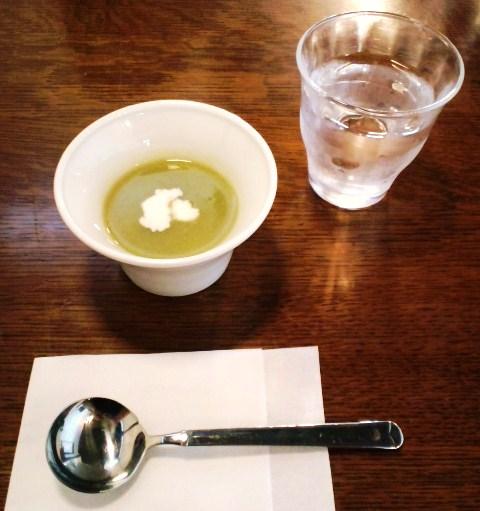 ブロッコリのスープ
