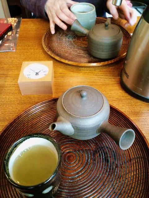 ほうじ茶と玄米茶
