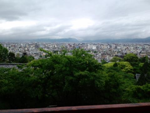 龍馬の墓地から見る景色