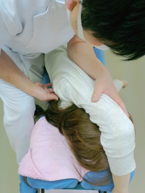 肩甲骨の上方回旋