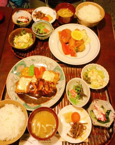 洋食のセット