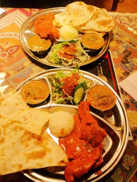 インド料理でランチ