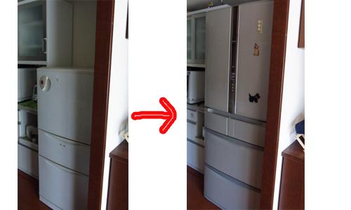 冷蔵庫のコピー