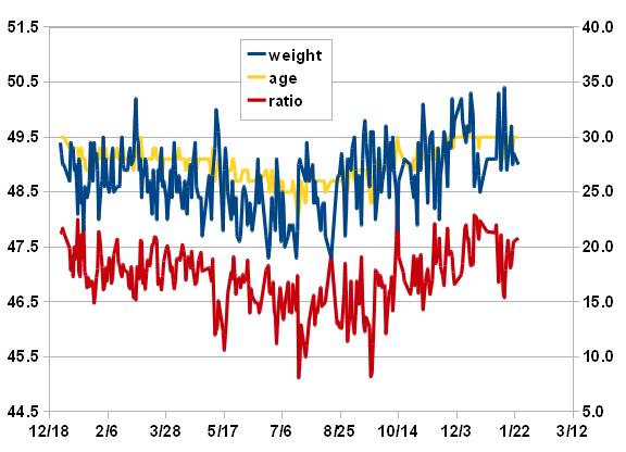 2012年1月25日のグラフ