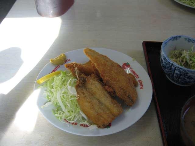 フライ定食
