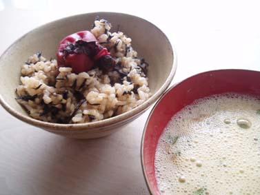 ひじき玄米