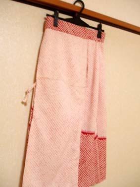 羽織スカート