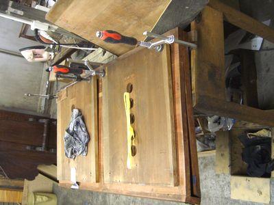 フイゴの板の修正