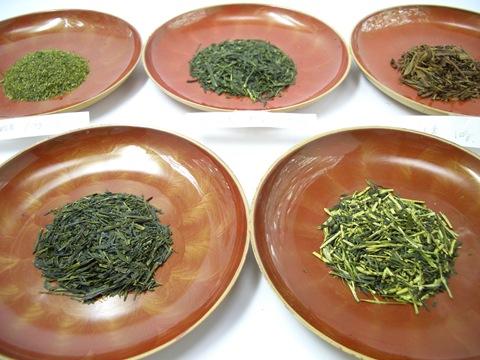 主な静岡茶