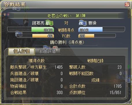 三国制覇戦12(2.01)-第1陣:関(妖術)