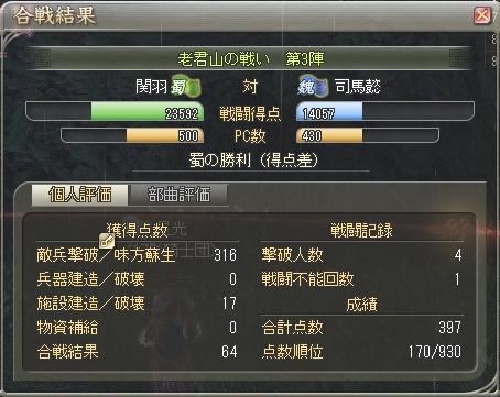三国制覇戦12(2.01)-第3陣:湿地(妖術)