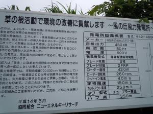 日本海側には風力発電所が多いのだな