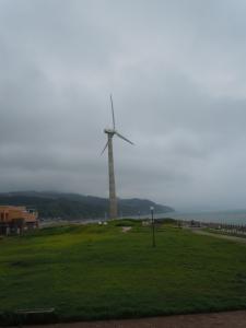 ここにも風力発電所が・・・