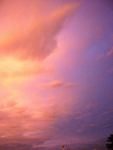 綺麗な夕焼け~♡