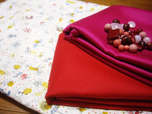 赤とピンク