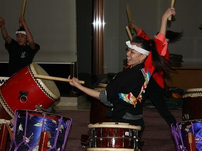 日本一にもなったツマベニ少年太鼓