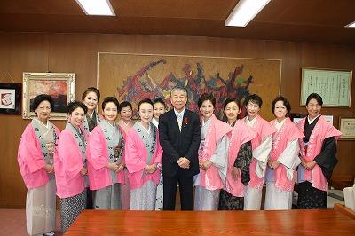 人吉市長さん表敬訪問