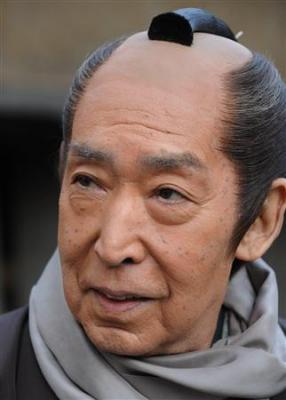 時代劇「必殺仕事人」に出演の俳優、藤田まことさん