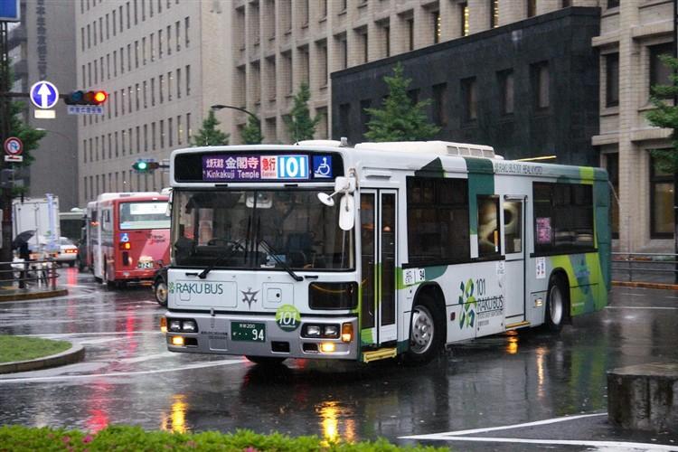 京都市交通局 京都200か・・94 いすゞKC-LV832N