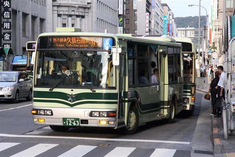京都市交通局 京都200か1263 三菱KK-MJ27HL