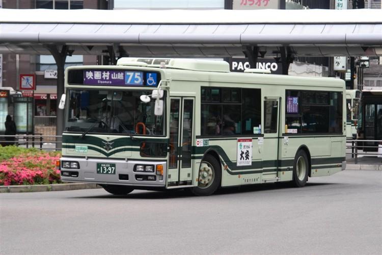 京都市バス 京都200か1397 いすゞPJ-LV234N1