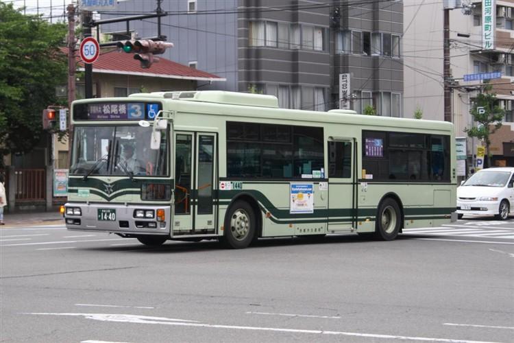 京都市バス 京都200か1440 日野PJ-KV234N1