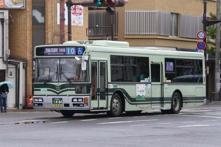 京都市バス 京都200か1444 日野PJ-KV234N1