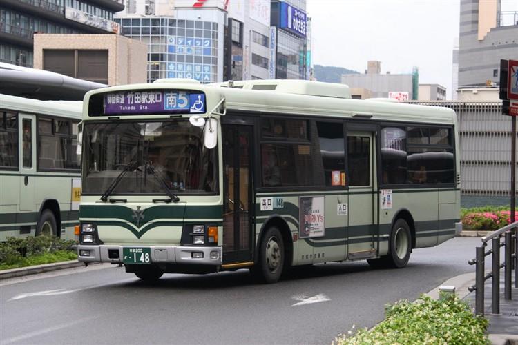京都市交通局 京都200か・148 いすゞKK-LR233J1
