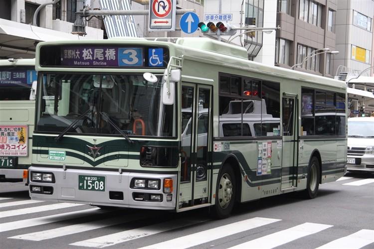 京都市バス 京都200か1508 日野PJ-KV234N1