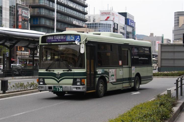 京都市交通局 京都200か・150 いすゞKK-LR233J1