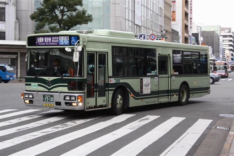京都市バス 京都200か1510 日野PJ-KV234N1
